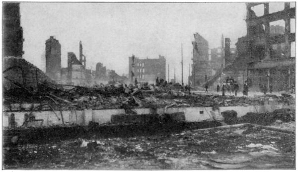 San Francisco Earthquake: The View from Fifth and Market Streets