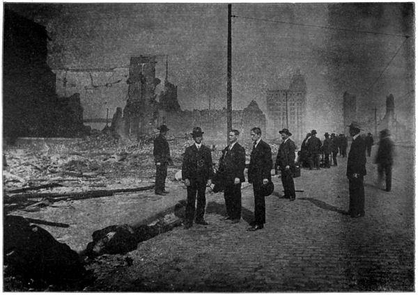 The San Francisco Earthquake: The Ruins of Market Street