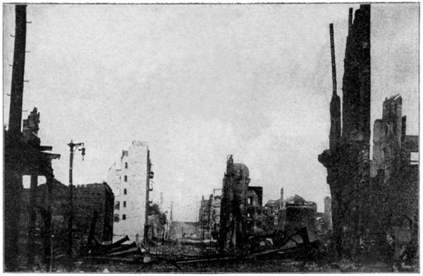 San Francisco Earthquake: The Ruins of Stockton Street
