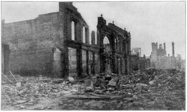 The Ruined Shell of the Orpheum Theater on O'Farrell Street