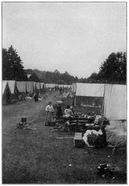 Refugee Tent City