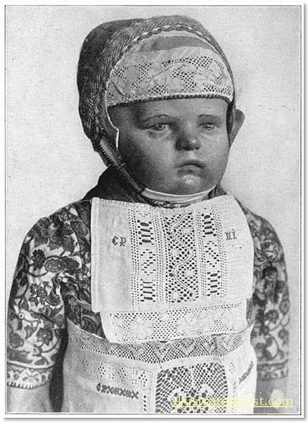 Child's Costume from Marken