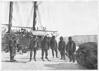 Offloading Supplies in Antarctica