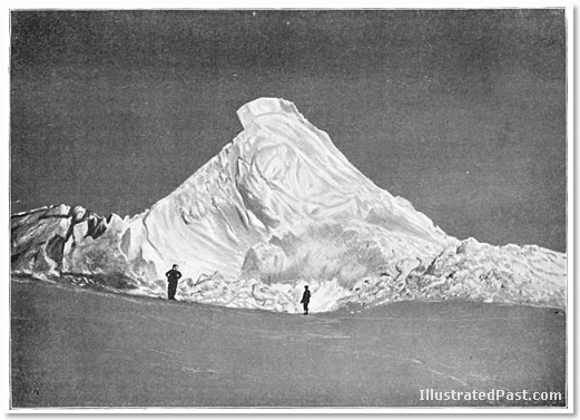 Antartica: The Ice Barrier Near the Base Camp