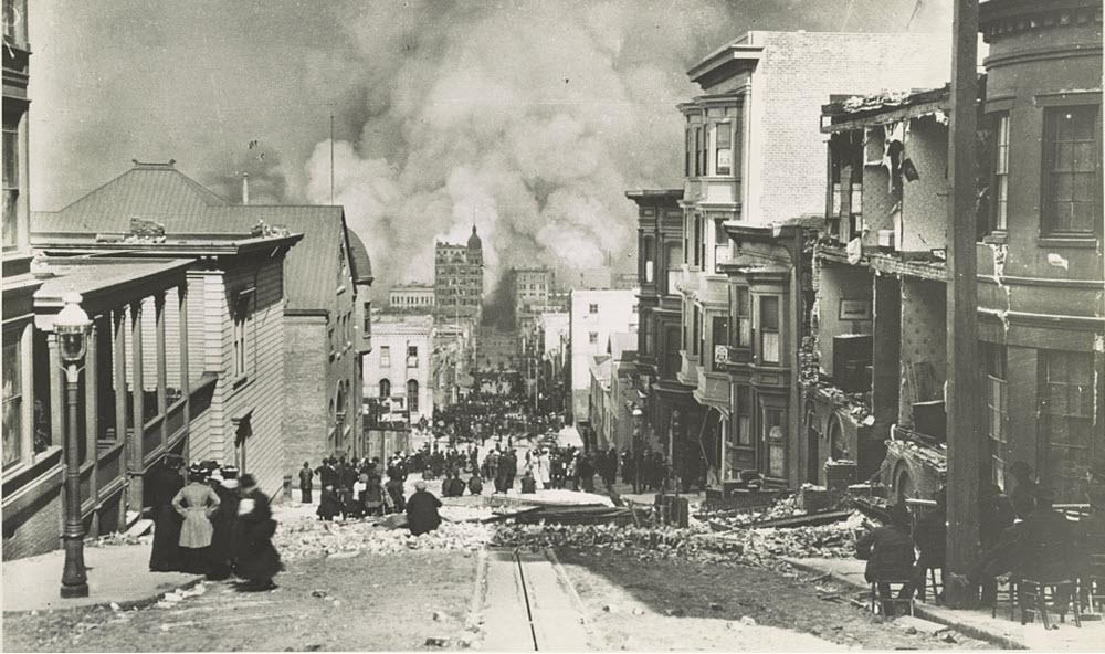 Amazing Photos of the San Francisco Earthquake Devastation
