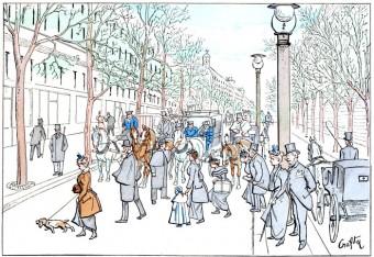 A Pedestrian Boulevard