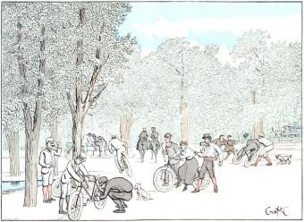Parisian Cycling Enthusiasts