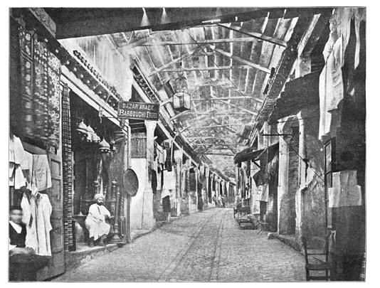 A Covered Bazaar in Tunis