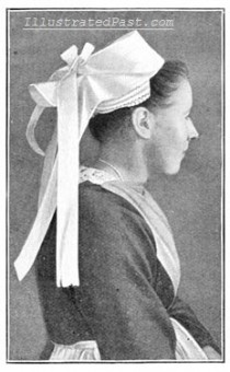 Brittany Girl with Head Dress