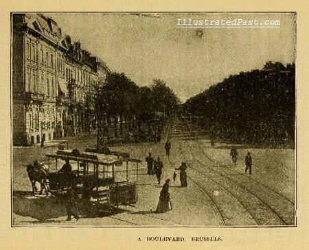 A Boulevard in Brussels