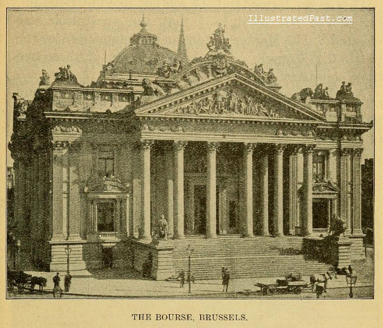 The Brussels Bourse (Stock Exchange)
