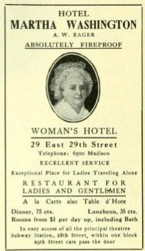 The Martha Washington Hotel for Women – Fully Fireproof
