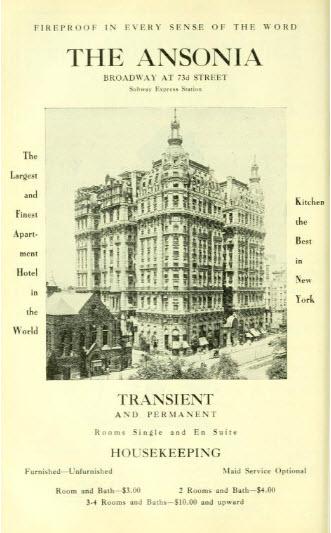 The Ansonia Hotel