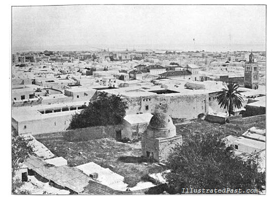 A View of Tunis Facing the Harbour