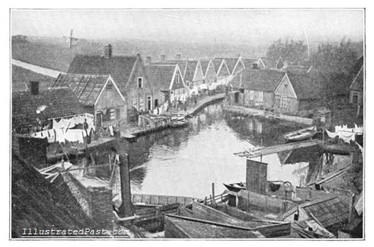 The Dutch Village of Volendam, in 1906.