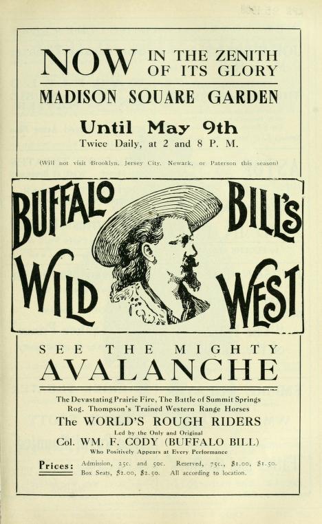 Buffalo Bill at Madison Square Gardens