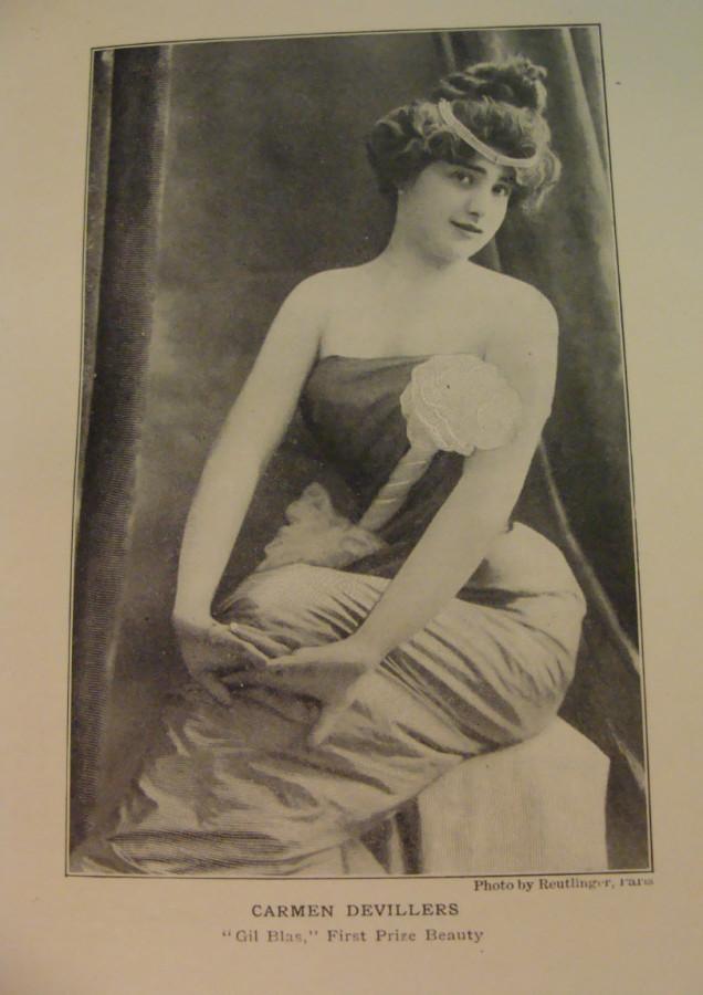 A Cabaret Performer 1902 Paris