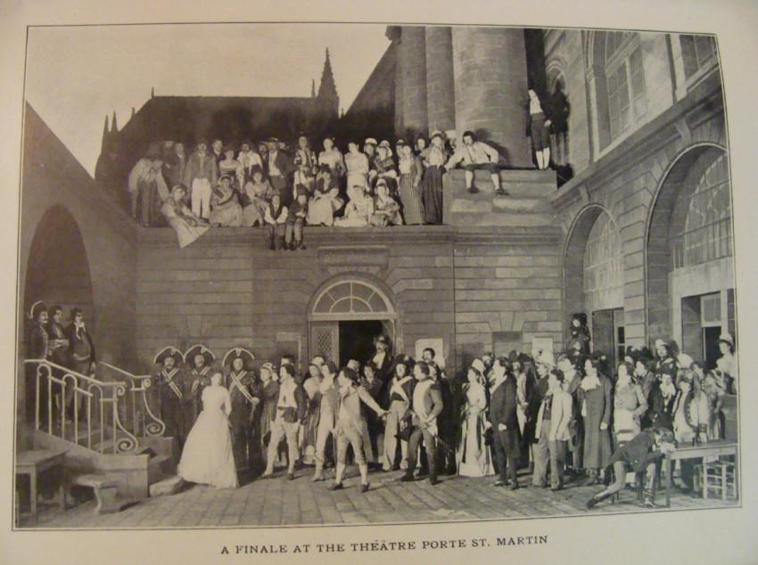 Cast of a Paris Theatre Show