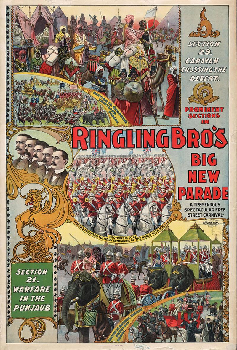 Victorian Era Circus