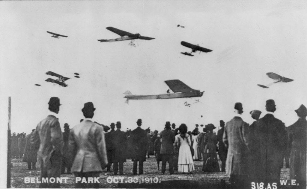 Airshow 1910 Belmont Park