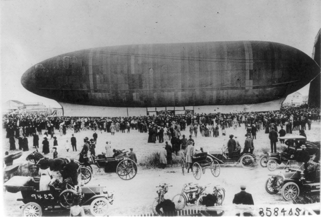 The Akron Airship Disaster