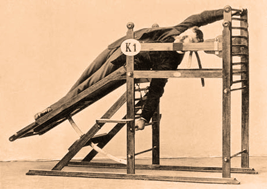 Early Victorian Gym Equipment