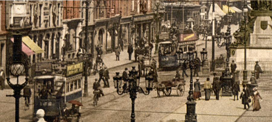 A Trip to Dublin, Ireland in 1890