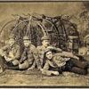 Members of the Bay City Wheelmen Cycling Club. San Francisco 1890.