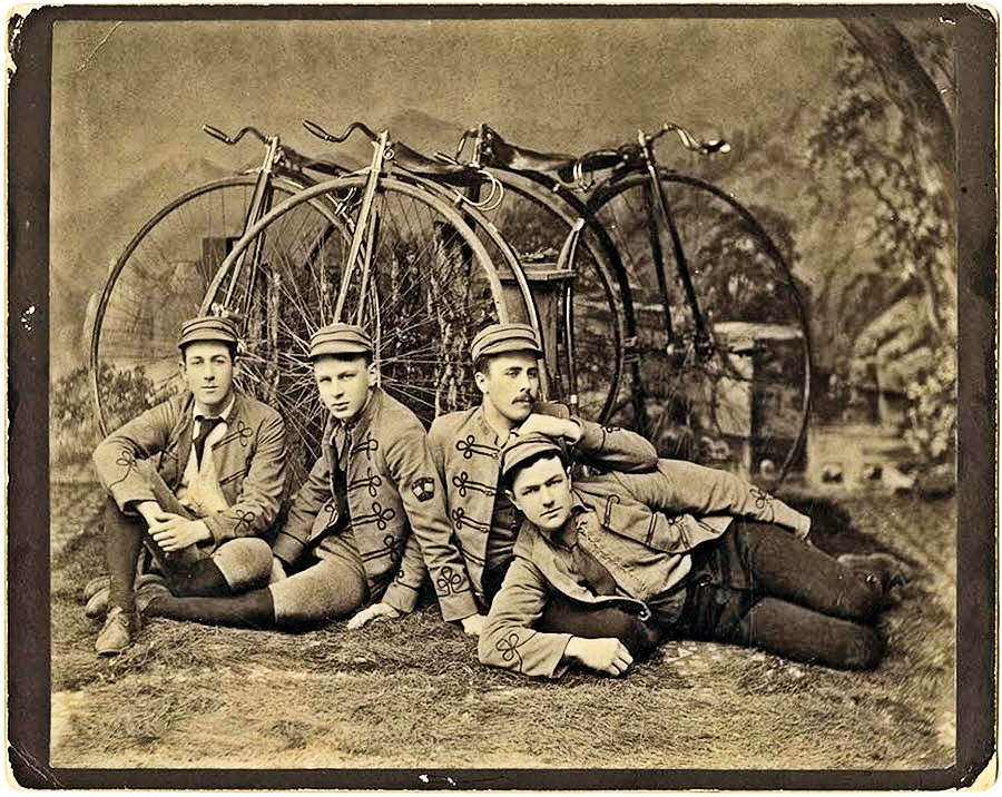 The Bay City Wheelmen – An Influential San Francisco Cycling Club from the 1890s.