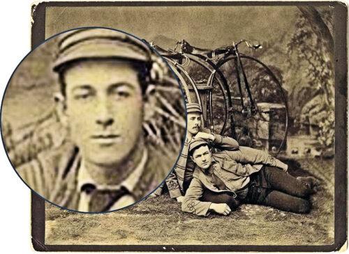 Closeup 2 - A member of the Wheelmen