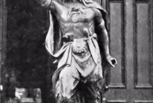 The Cigar Store Indian and Other Wooden Advertising Statues
