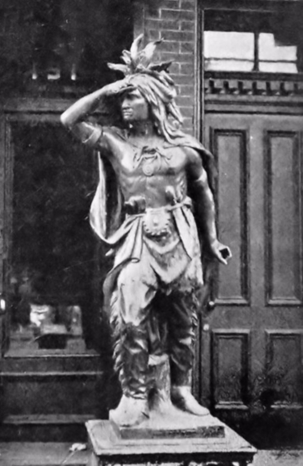 The Cigar Store Indian and Other Vintage Advertising Sculptures